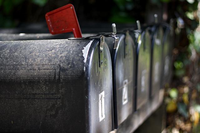 caixa de mensagem